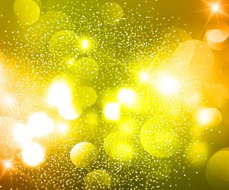 Bokeh lights and glitter background 免版税图像