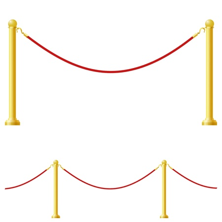 Vector illustration of a barrier Vector