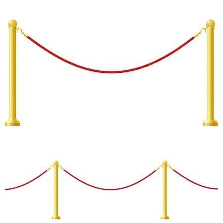 Vector illustration of a barrier Stock Vector - 11890991