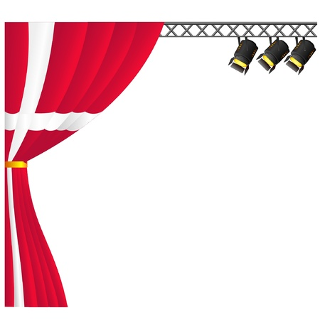Theater Denmark. vector