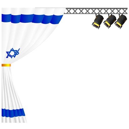 Theater Israel. vector Stock Vector - 11897561