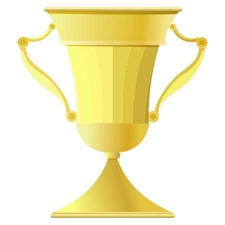 Gold Cup. vector Vector