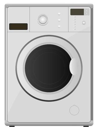 geschirrsp�ler: Waschmaschine. Vektor