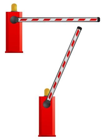 Vector barrière Vector Illustratie