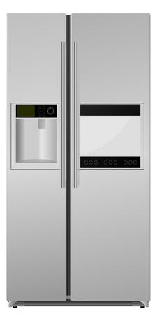 réfrigérateur. vecteur