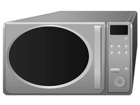 microwave. vector Vector