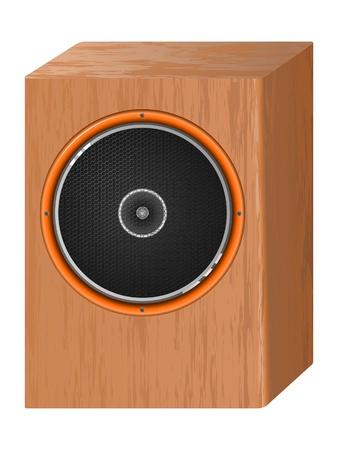 music speaker. vector