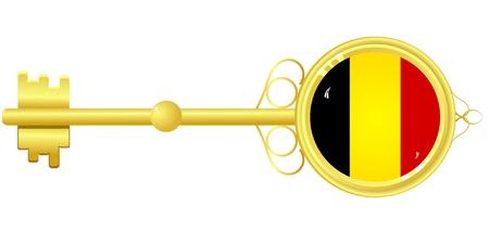 dignity: Golden key for Belgium