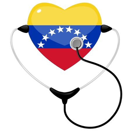 venezuela: Medicine Venezuela Illustration