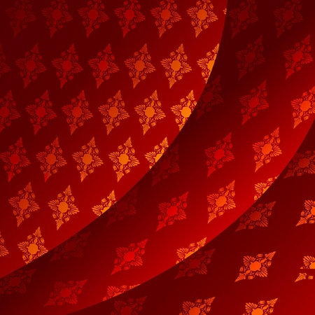 Vector background of red tissue Stock Vector - 11942493