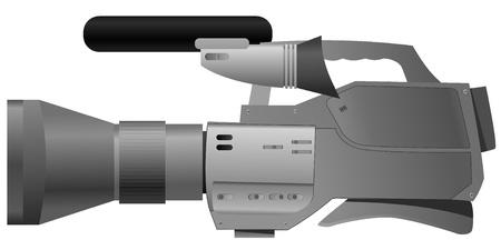 Vector illustration of film camera Vector