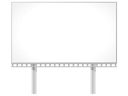 Vector illustration of a billboard Stock Vector - 11942894