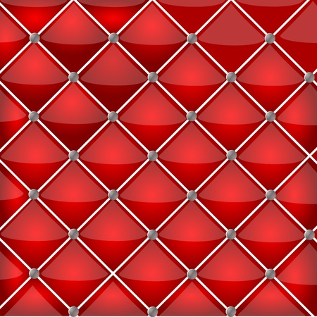 fetish: Vector red leather texture Illustration