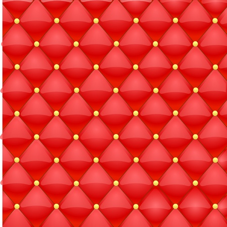 swank: Vector illustration of red leather texture Illustration