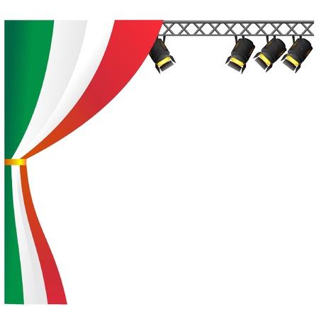 Theater Italy. vector Stock Vector - 11942862