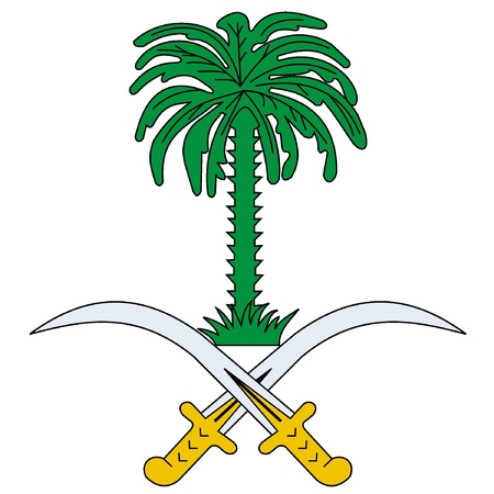 Vector national flag of Saudi Arabia