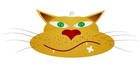Vector illustration of a cat Stock Illustration - 11942669