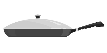Vector illustration of a frying pan Vector