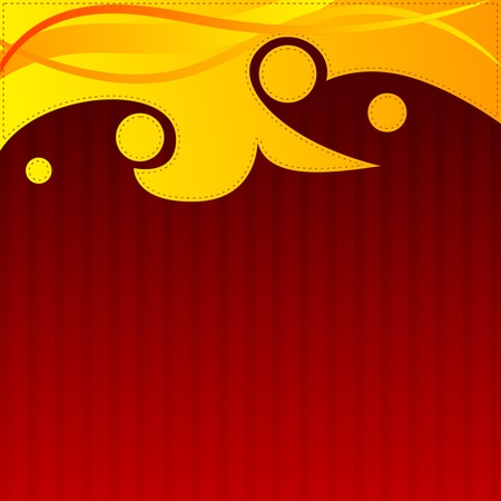 emitter: Abstract  red background with orange elements. EPS10