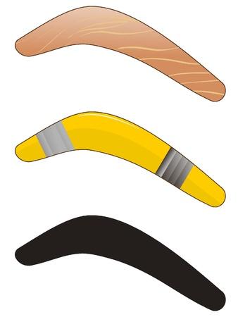 Vector boomerang Vector