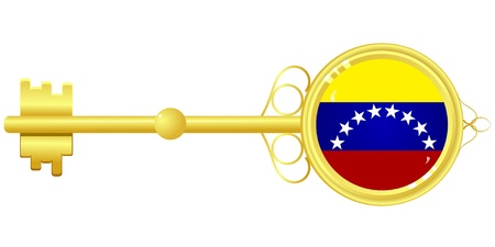 golden key: golden key from Venezuela