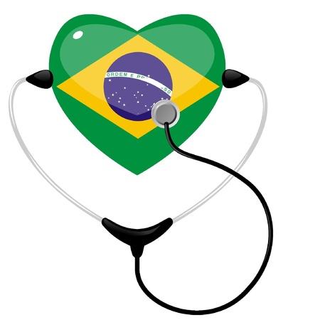 Medicine Brazil Stock Vector - 11942680