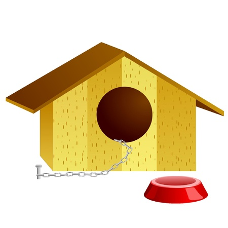 Vector illustration of doghouse Stock Vector - 11942678