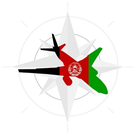 Vector  image of the air in Afghanistan Stock Vector - 11942719