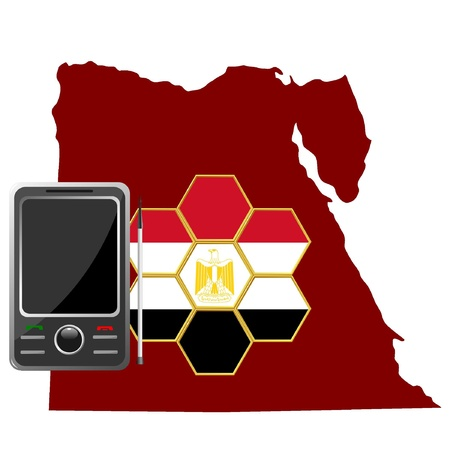 Mobile Communications Egypt  Vector