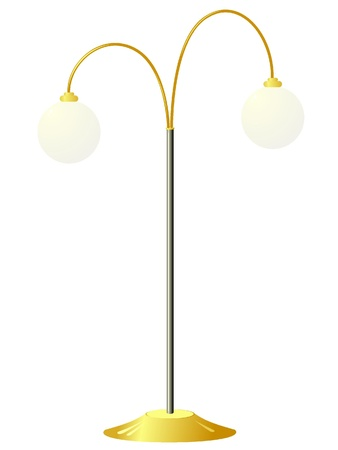 furnish: Floor lamp