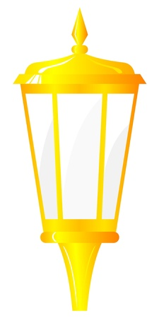 Golden Lantern. Vector  Stock Vector - 11942539
