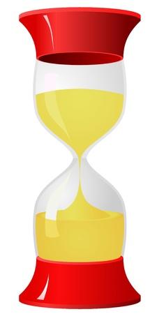 Hourglass. vector  Vector