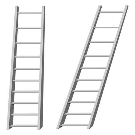 Vector illustration d'échelles