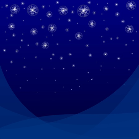 Vector  abstract star background Vector