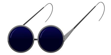 Glasses blind. vector Stock Vector - 11965409