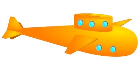 Yellow submarine  vector  Иллюстрация