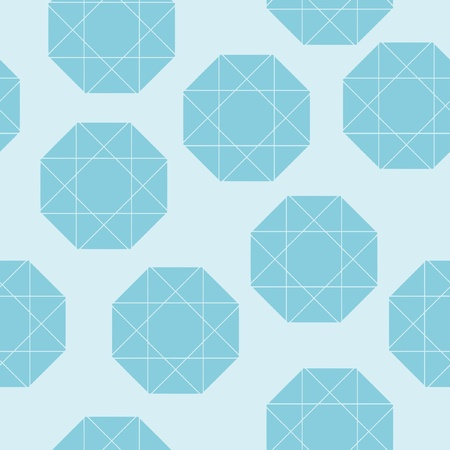 Seamless texture with blue elements Stock Vector - 12021458