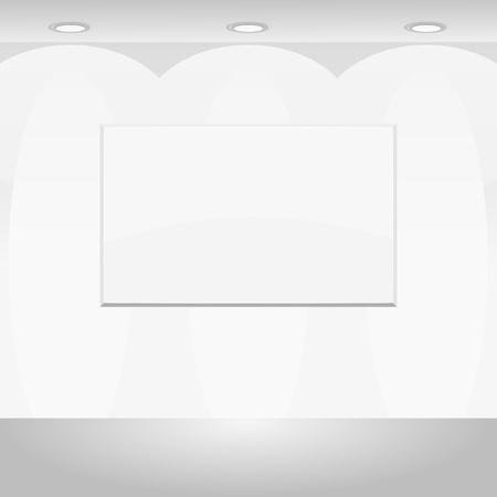 Vector illustration of Blank billboard Stock Vector - 12030175