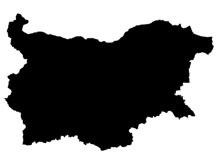 Vector illustration of maps of Bulgaria Vector
