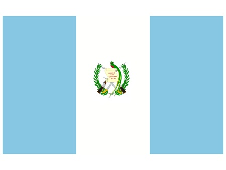 guatemala: Vector illustration of the flag of Guatemala   Illustration