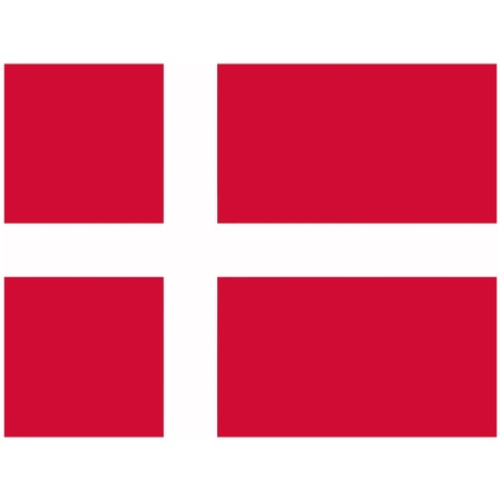 Vector illustration of the flag of  Denmark   Vector