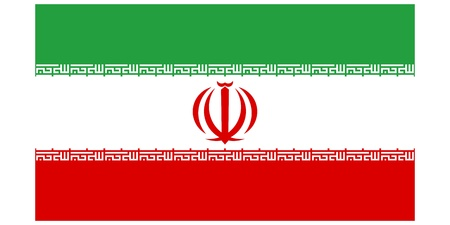 Vector illustration of the flag of Iran  Vector