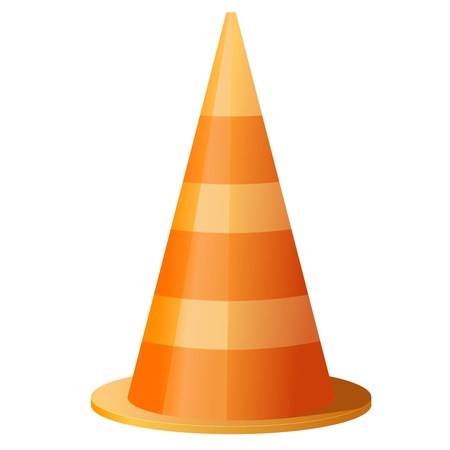 under construction sign: Traffic cone