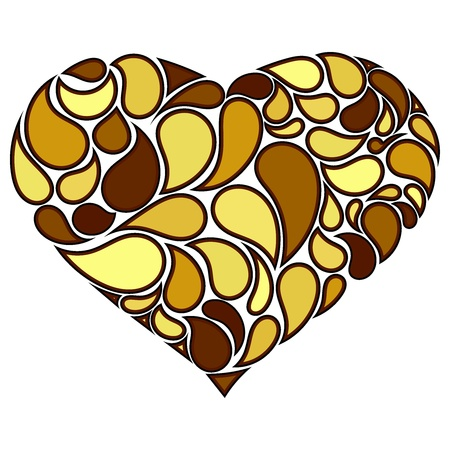 Vector illustration of heart Stock Vector - 12397772