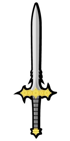 Sword Stock Vector - 12397805