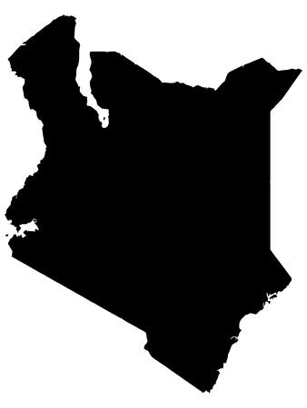 illustration of maps of Kenya Stock Vector - 12870182