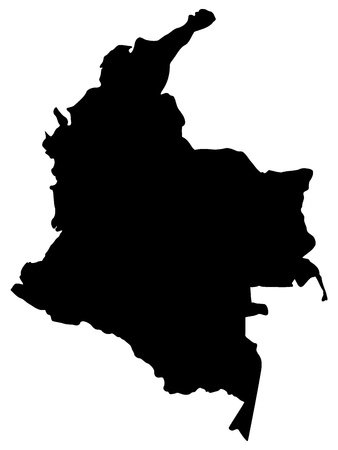 illustration of maps of Colombia