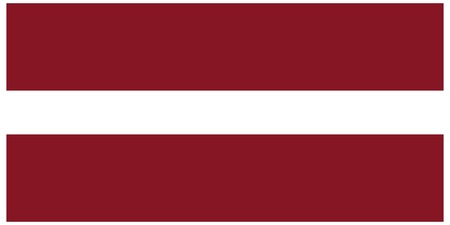 illustration of the flag of  Latvia     Vector