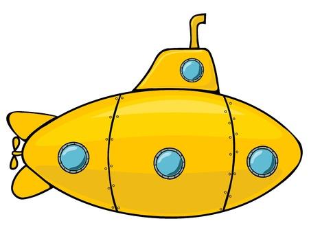 seetang: Gelbe U-Boot