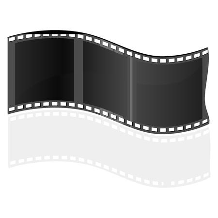 Movie Film Frame Stock Vector - 13024388
